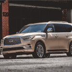 2020 INFINITI QX80 Side Profile