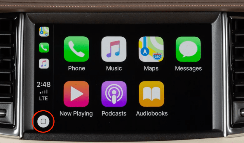 Use Apple CarPlay INFINITI QX50