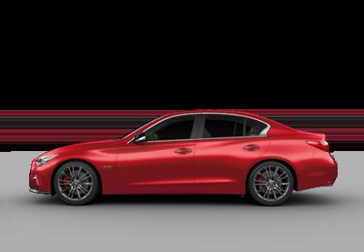 2020 INFINITI Q50 Red Sport Icon