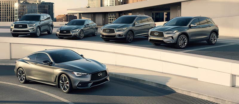 ALL NEW INFINITI MODELS