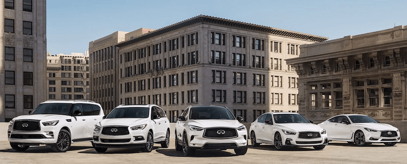 The INFINITI Edition 30 Lineup
