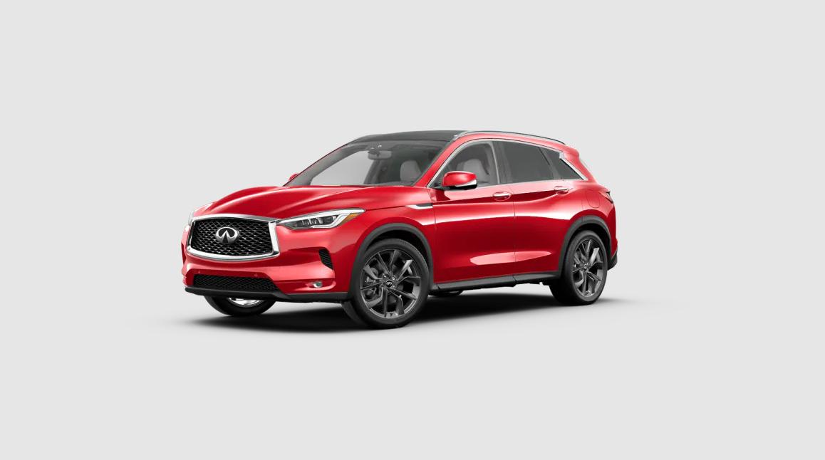 2021 INFINITI QX50 Dynamic Sunstone Red