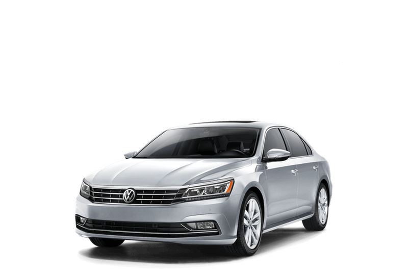 2018 Volkswagen Passat white background