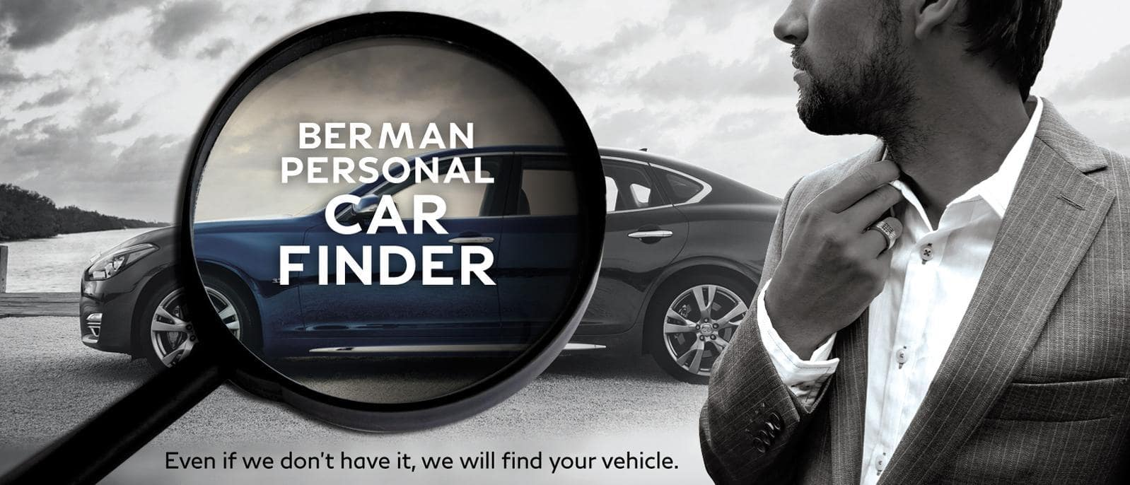 Berman Personal Car Finder Program at Berman INFINITI of Merrillville