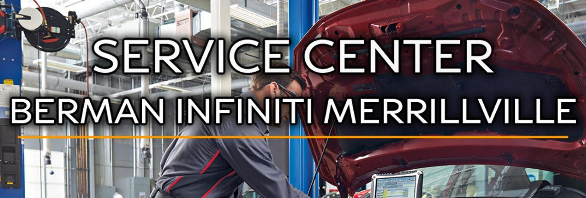 Service Center at Berman INFINITI of Merrillville