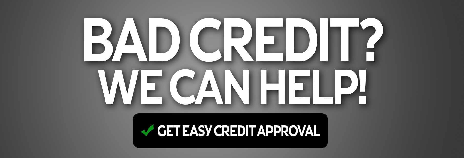 Bad Credit? Berman INFINITI Chicago can help!