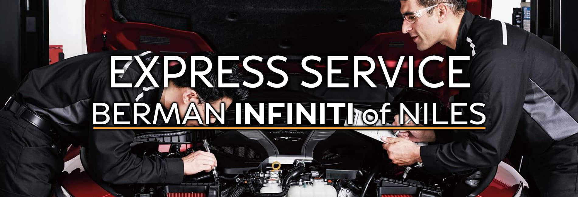 Express Service at Berman INFINITI of Niles