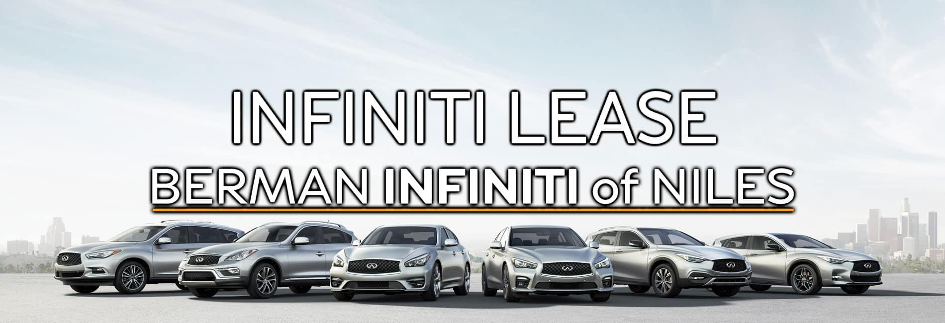 INFINITI Lease at Berman INFINITI of Niles