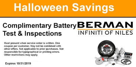 Halloween Savings: Complimentary Battery Test & Inspections