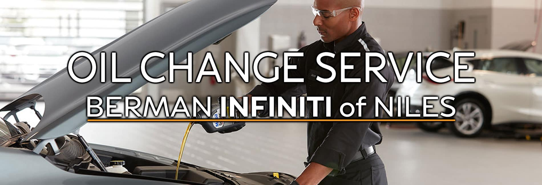 Niles INFINITI Oil Change