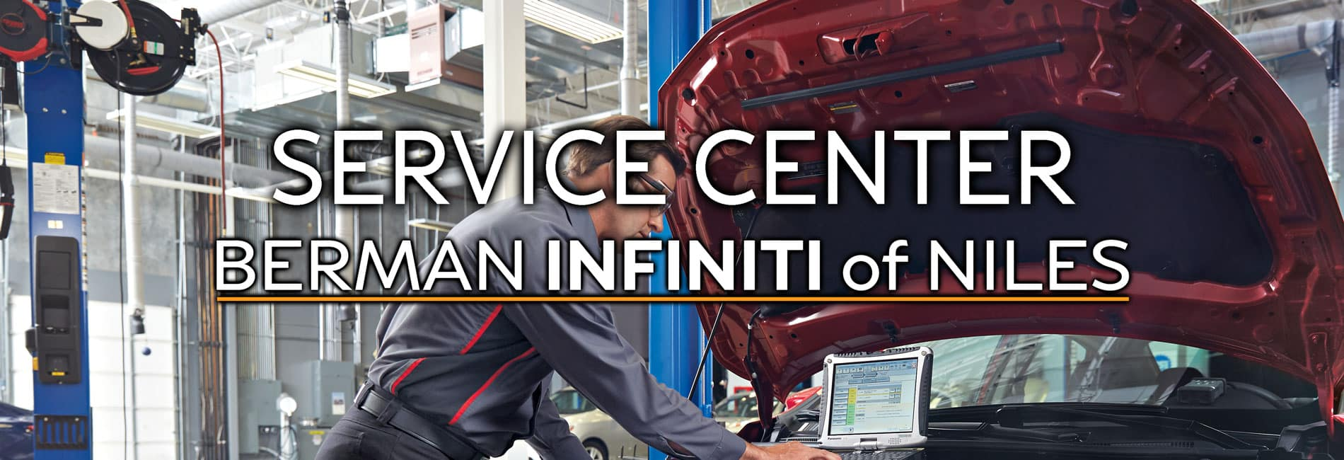 Service Center at Berman INFINITI of Niles