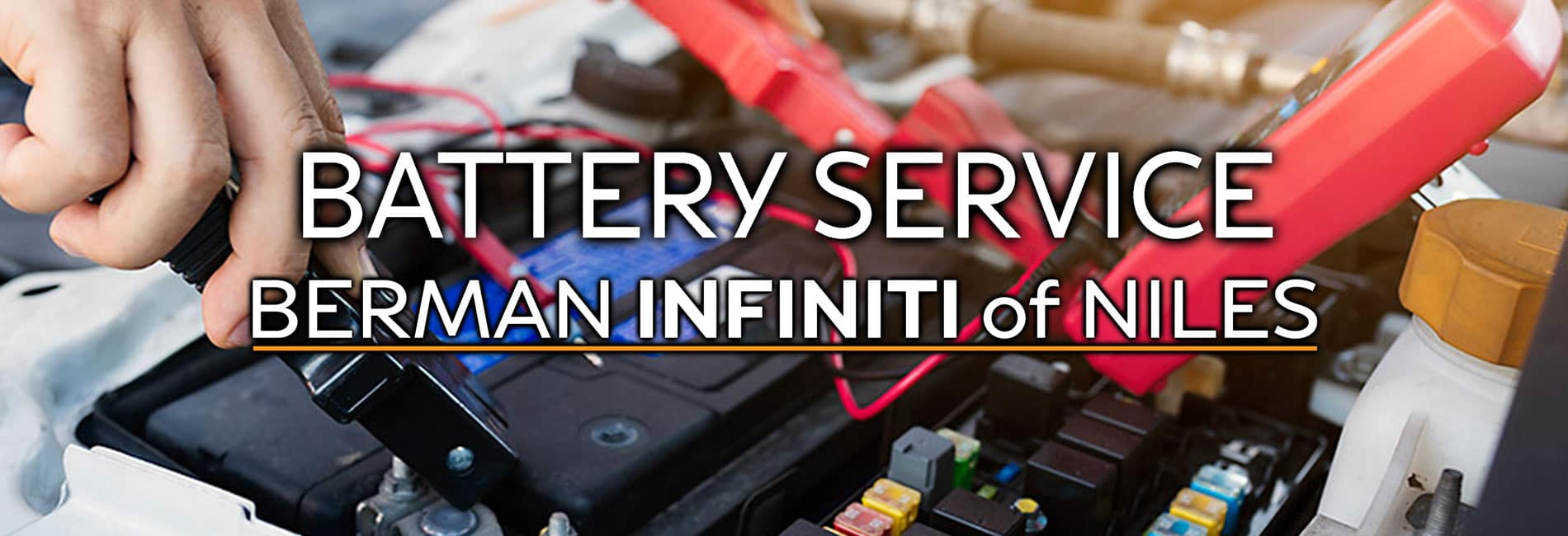 INFINITI Battery Service at Berman INFINITI of Niles