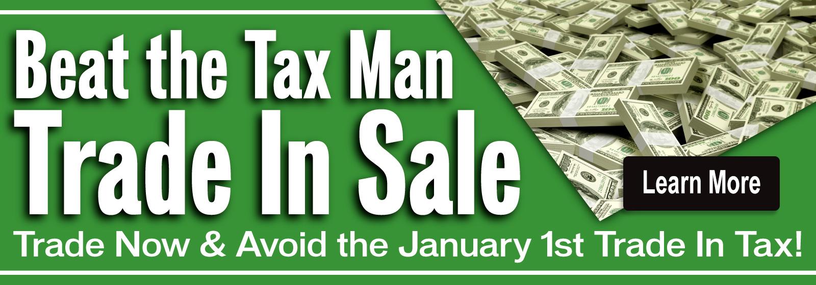Beat the Tax Man Trade in Sale at Berman INFINITI of Niles