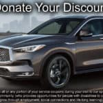 Donate Your Discount at Berman INFINITI of Niles
