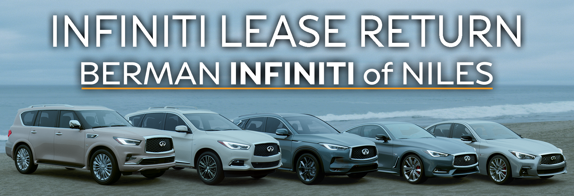 INFINITI Lease Return at Berman INFINITI of Niles