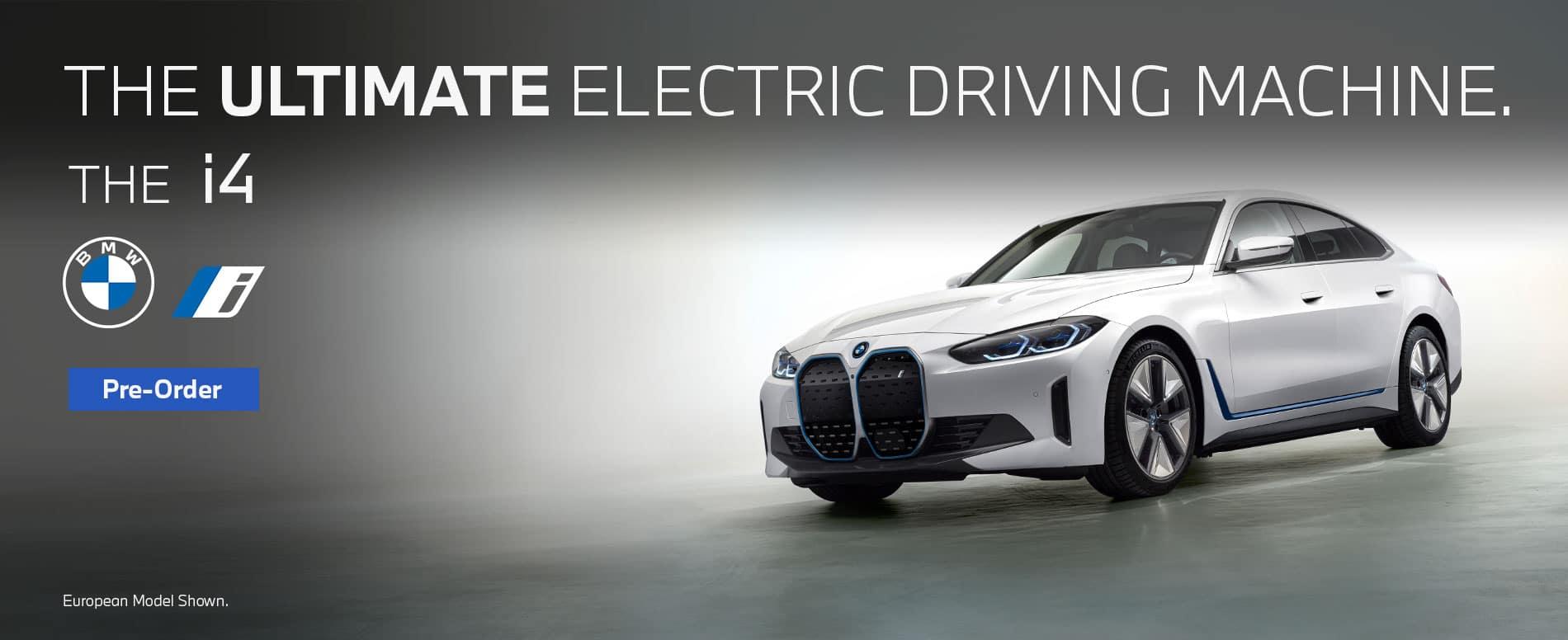 i4 pre order ultimate electric driving machine