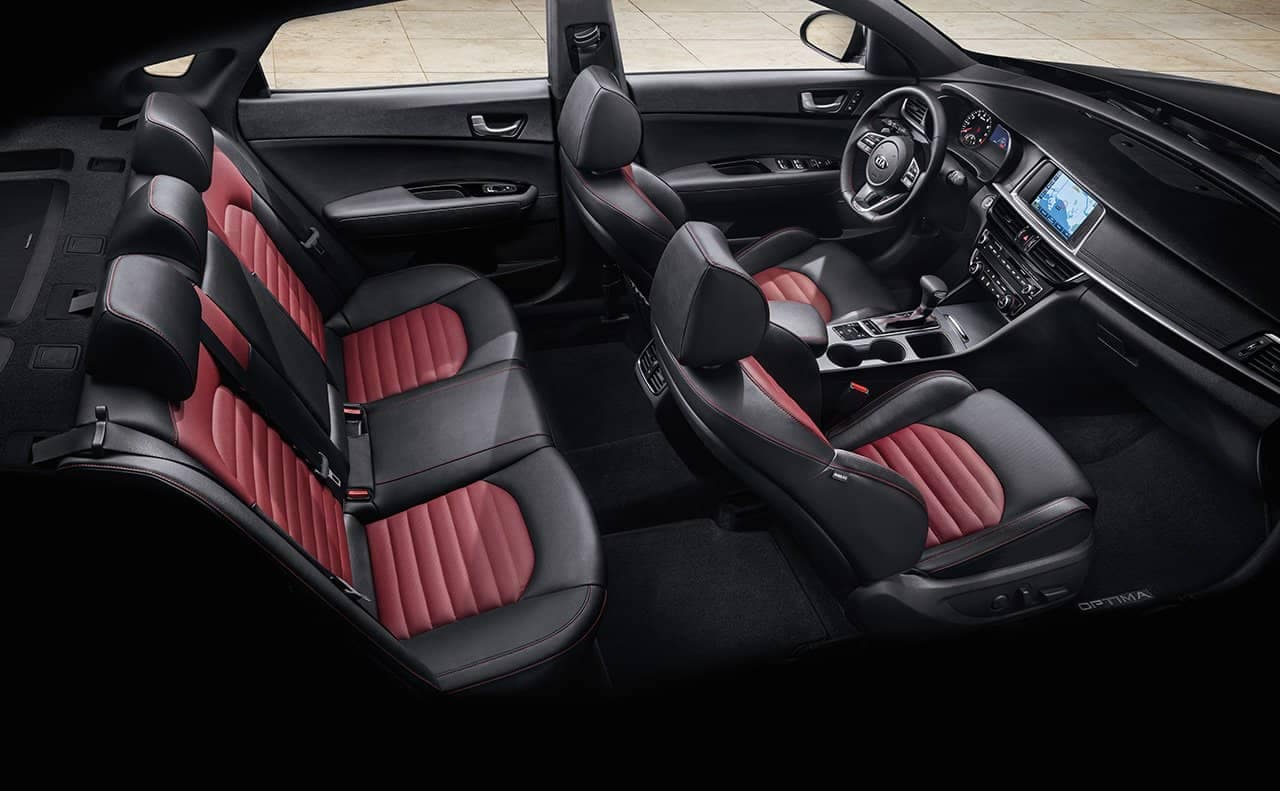 2019 Kia Optima Seating