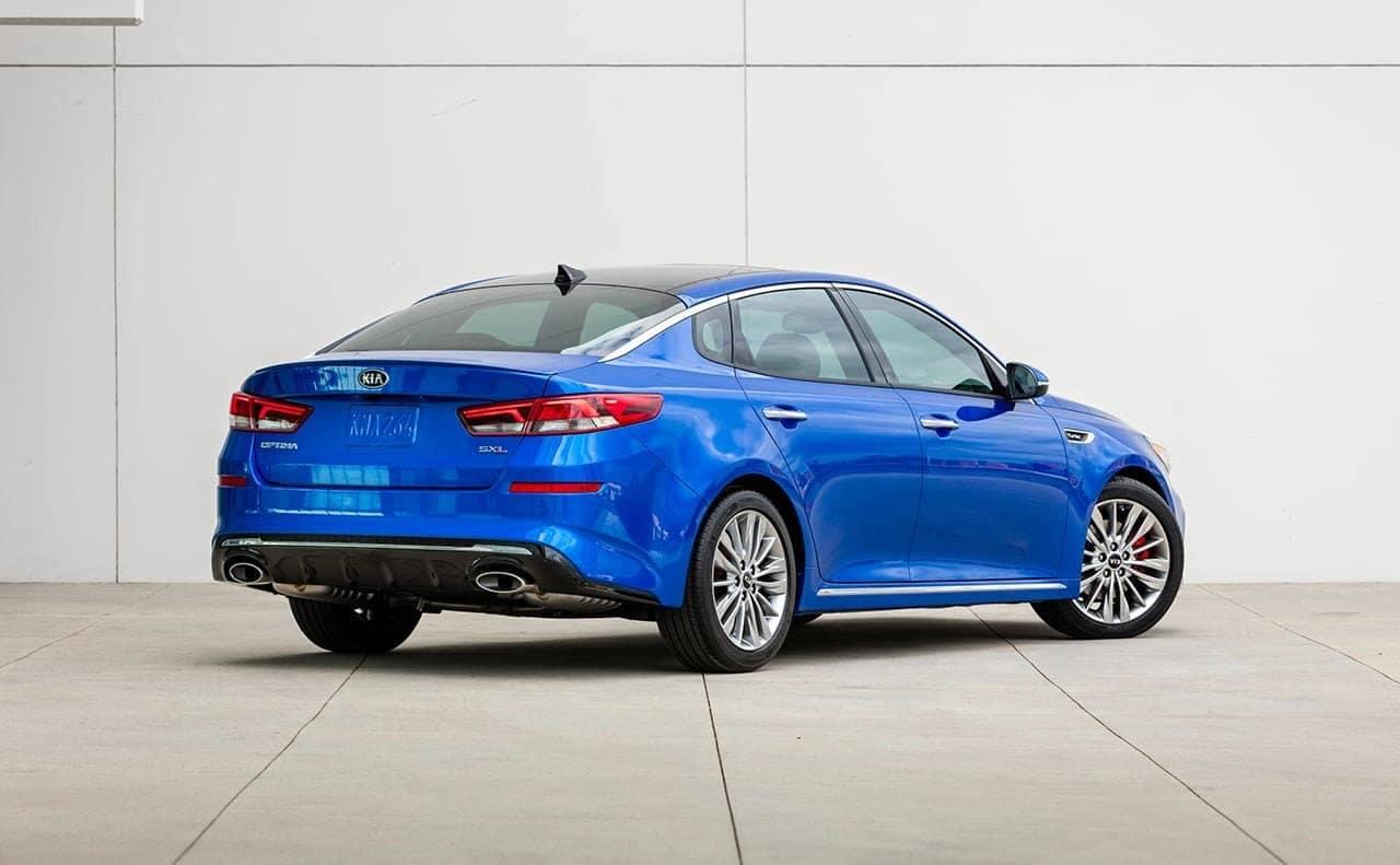2019 Kia Optima Blue