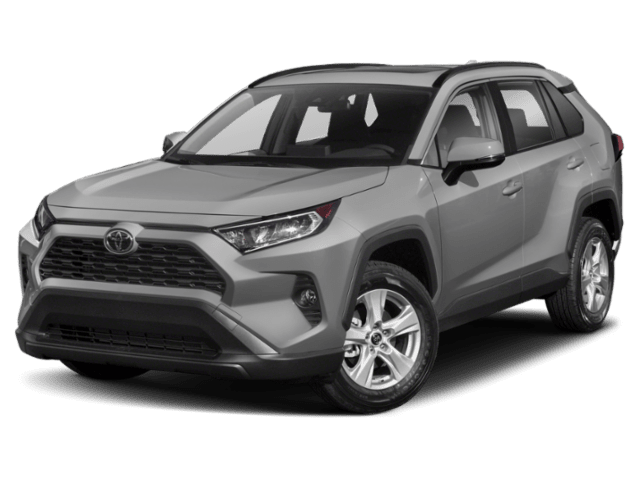 2019 Toyota RAV4 in grey