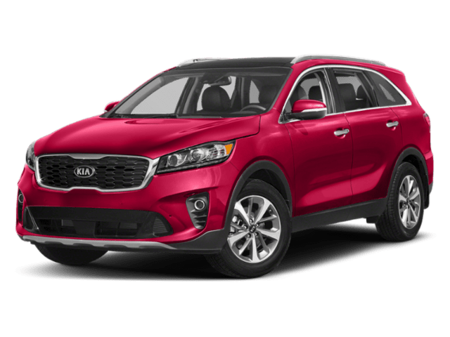 2019 Kia Sorento EX in red
