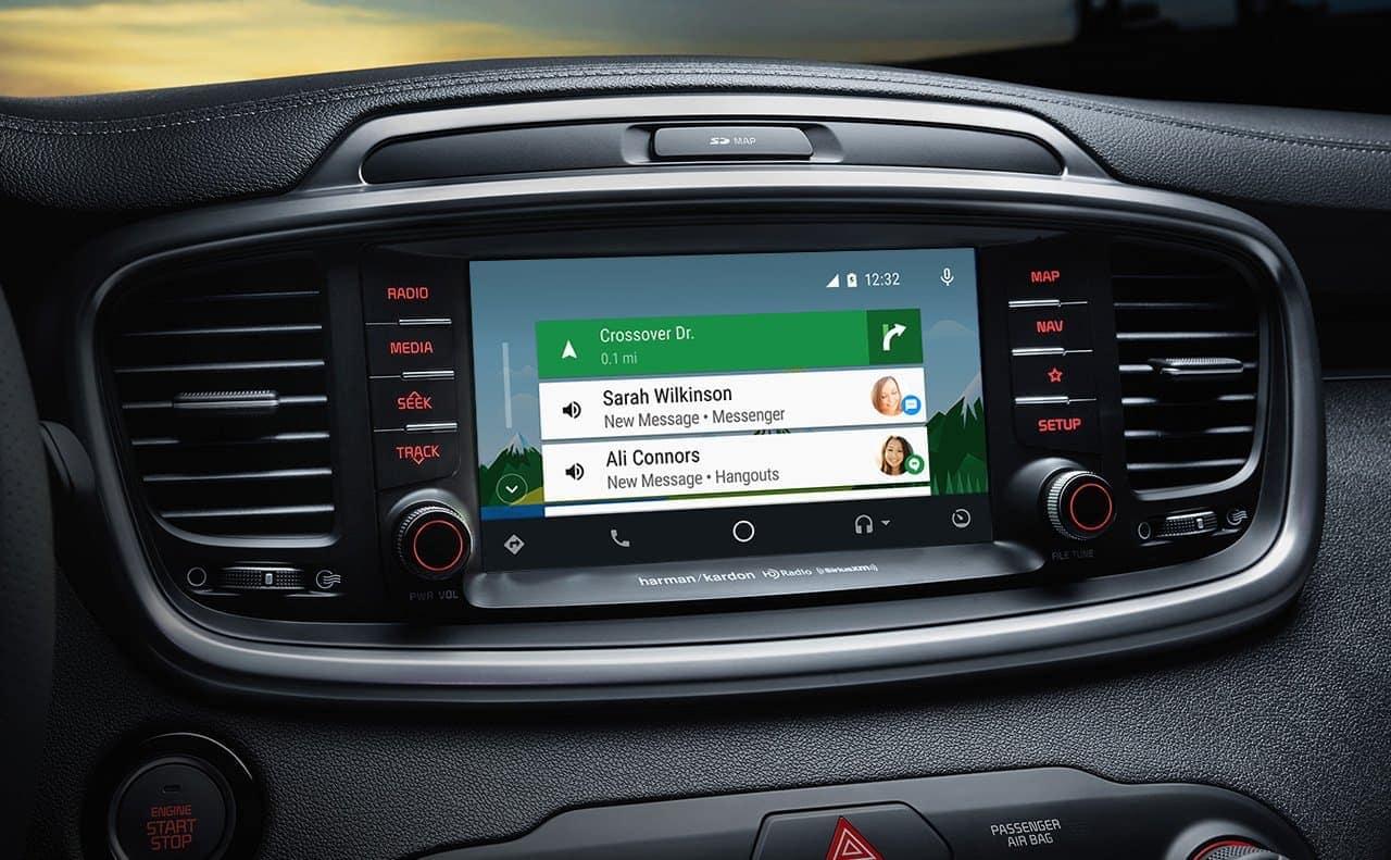 2019 Kia Sorento interior UVO infotainment system