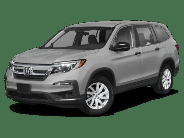 2019 Honda Pilot in silver