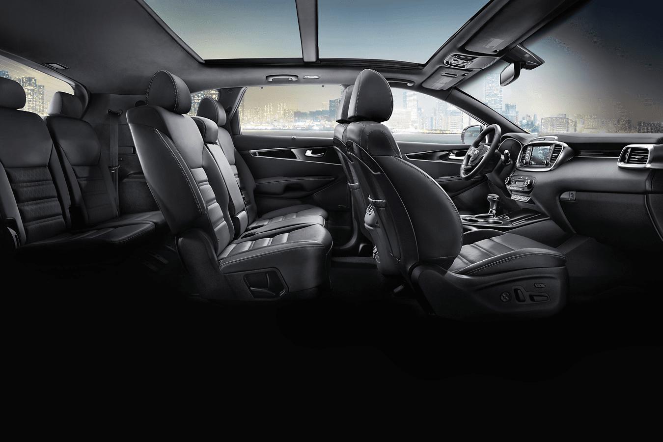 2019 Kia Sorento passenger volume interior