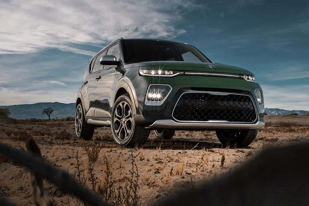 2020 Kia Soul in green exterior