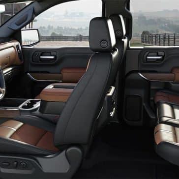 2019 Chevy Silverado 1500 Seating