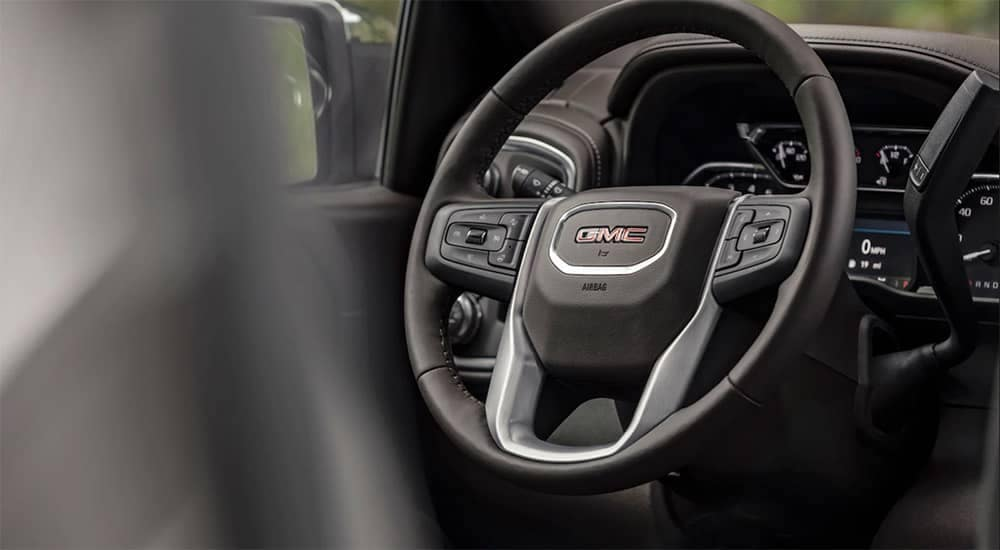 2019 GMC Sierra 1500 Rear Steering Wheel