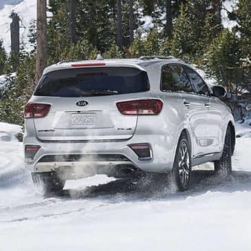 2019 Kia Sorento Snow