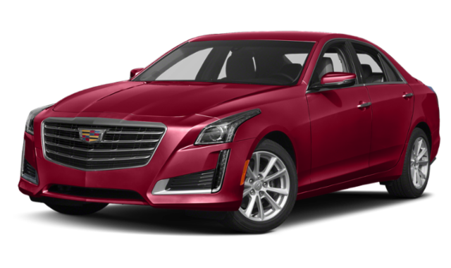 Red 2019 Cadillac CTS