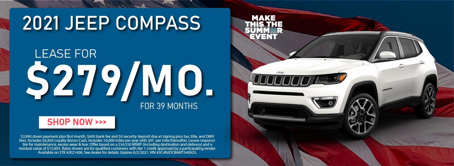 CDJR Manhattan – July 2021 – Jeep Compass