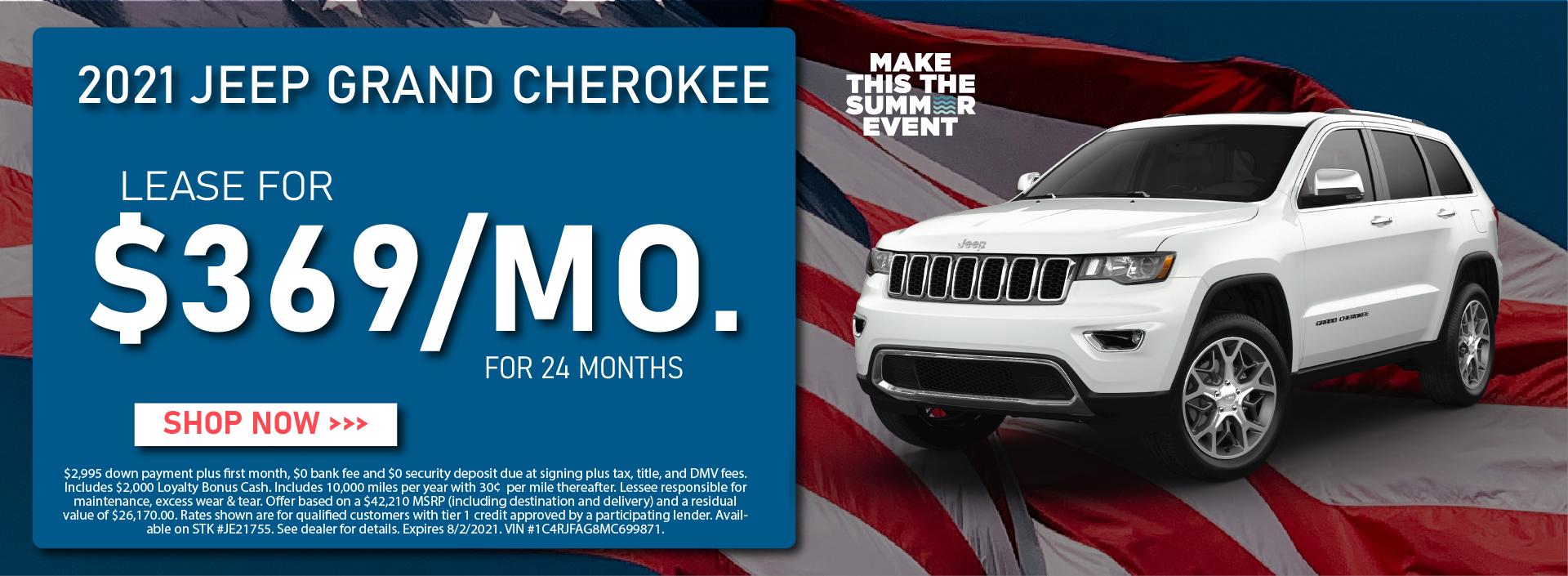 CDJR Manhattan – July 2021 – Jeep Grand Cherokee