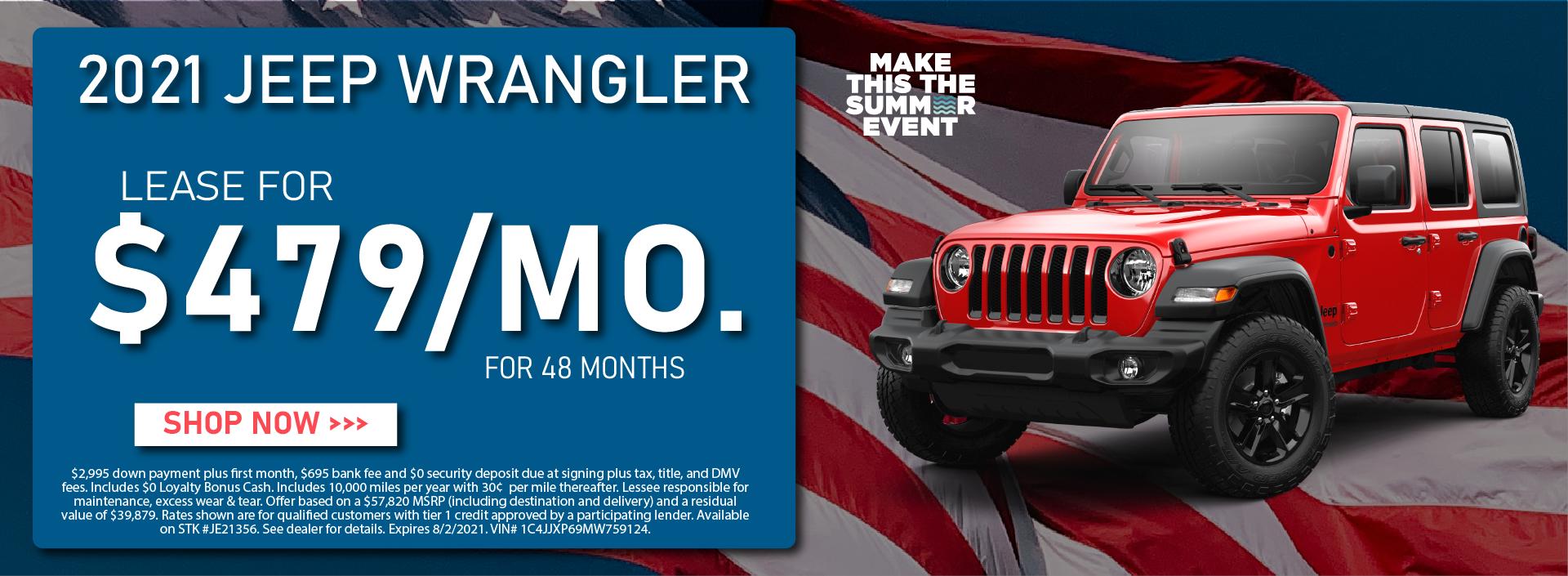 CDJR Manhattan – July 2021 – Jeep Wrangler