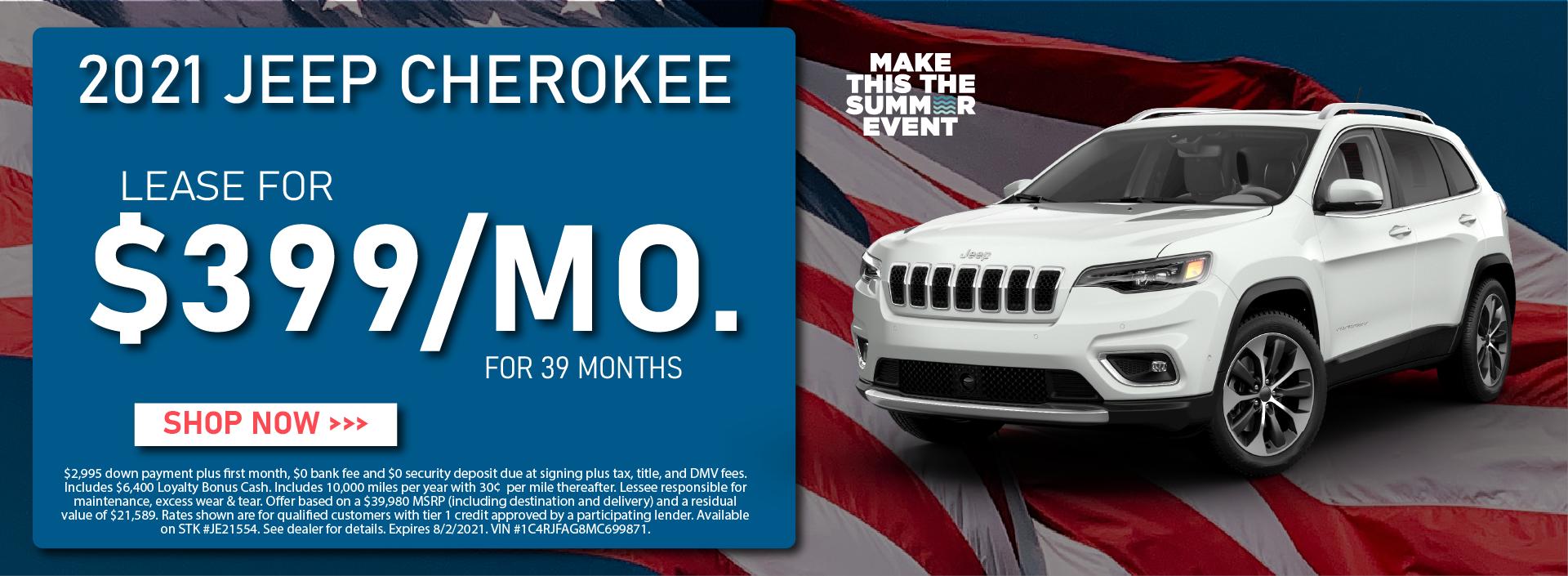 CDJR Manhattan – July 2021 – Jeep Cherokee