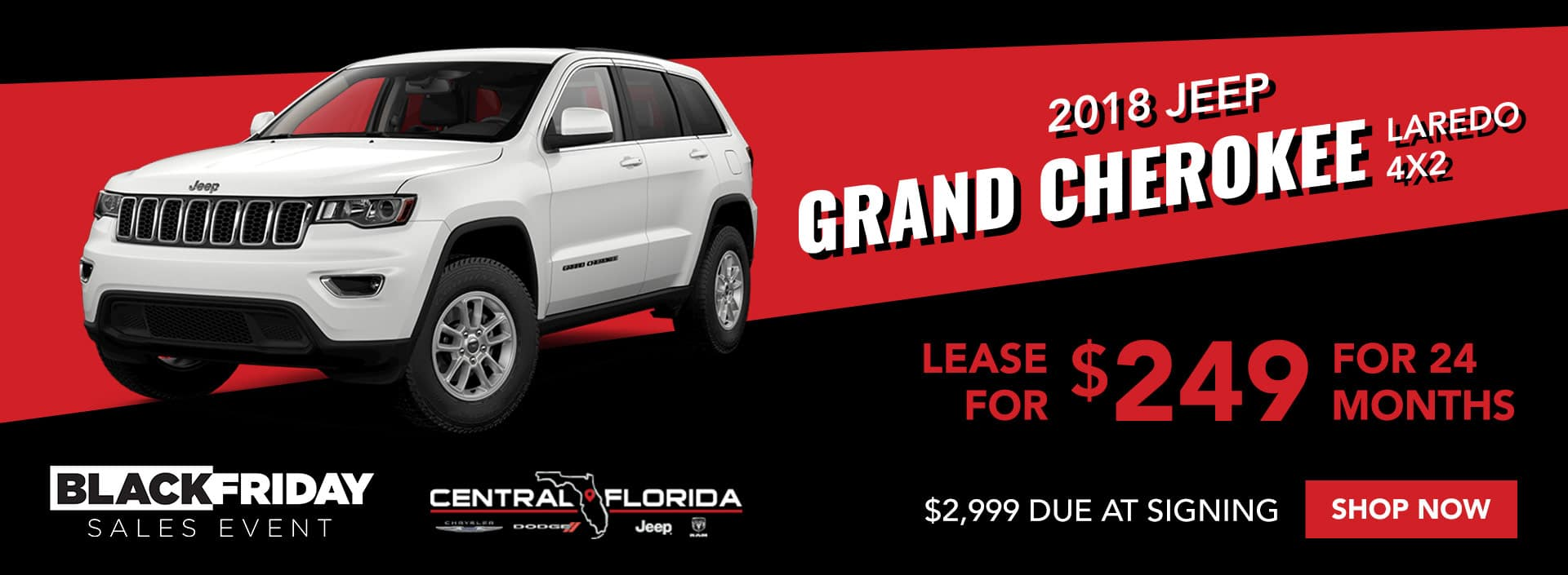 Jeep Grand Cherokee Black Friday Special