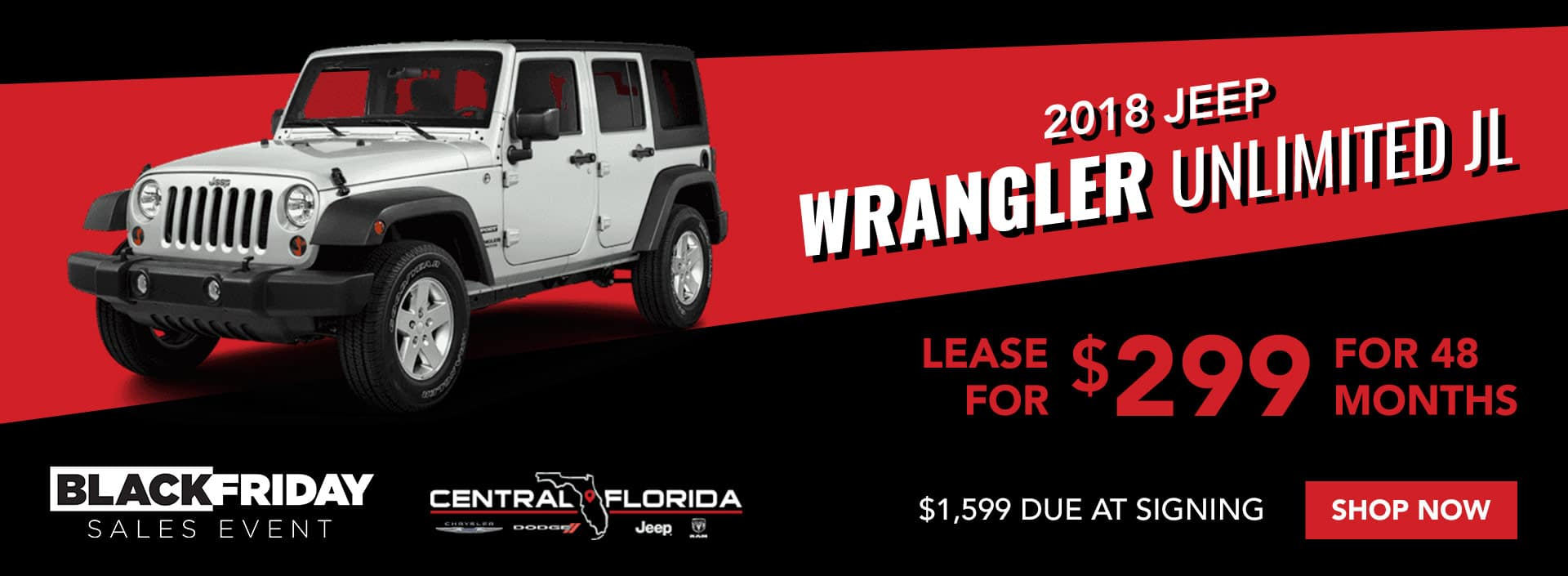 Jeep Wrangler Black Friday Special