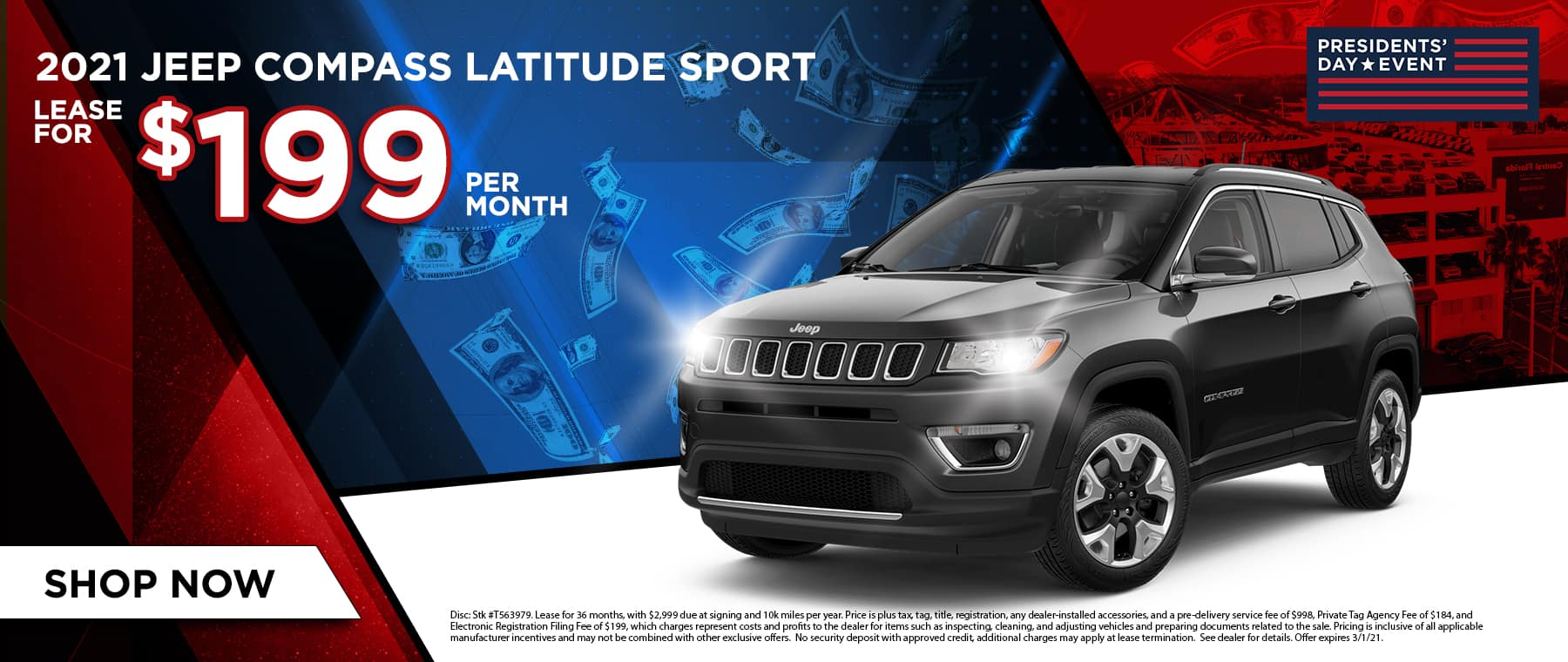 2021 Jeep compass Latitude Sport