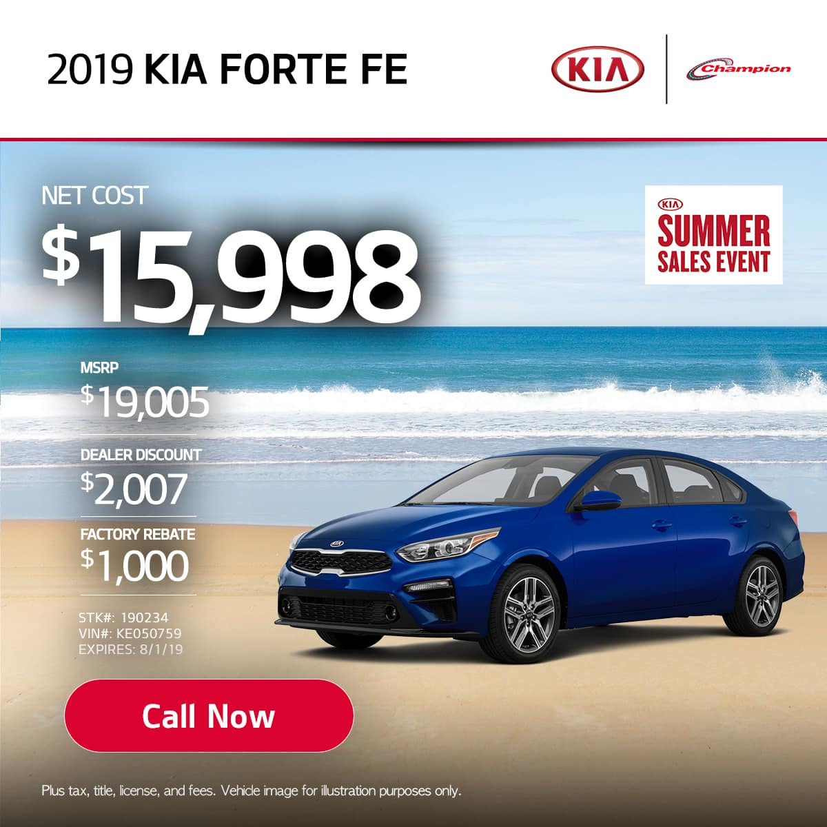 mobile TK 2019 Kia Forte FE