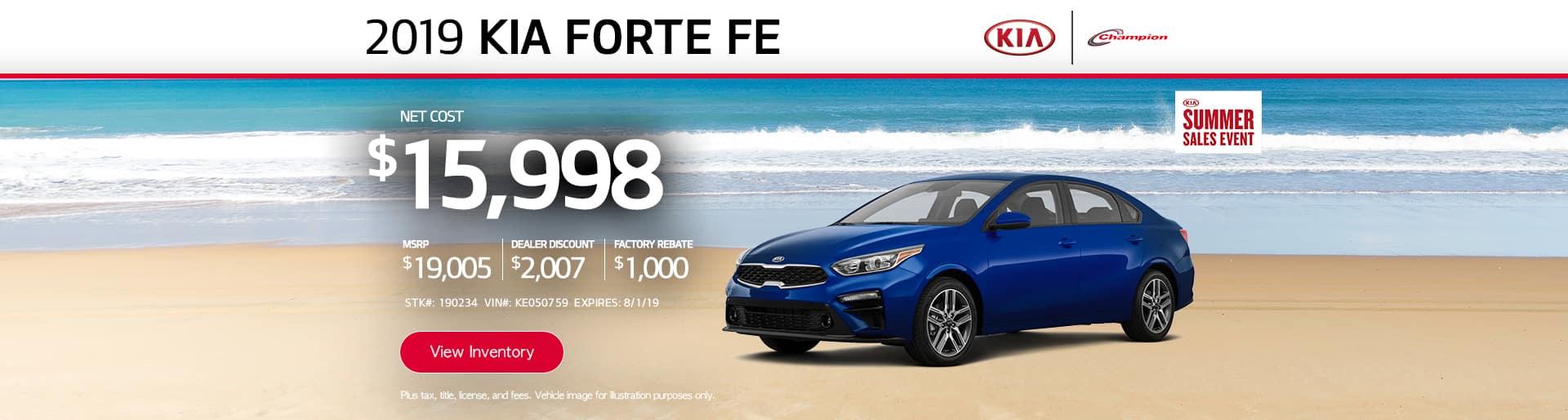 desktop TK 2019 Kia Forte FE