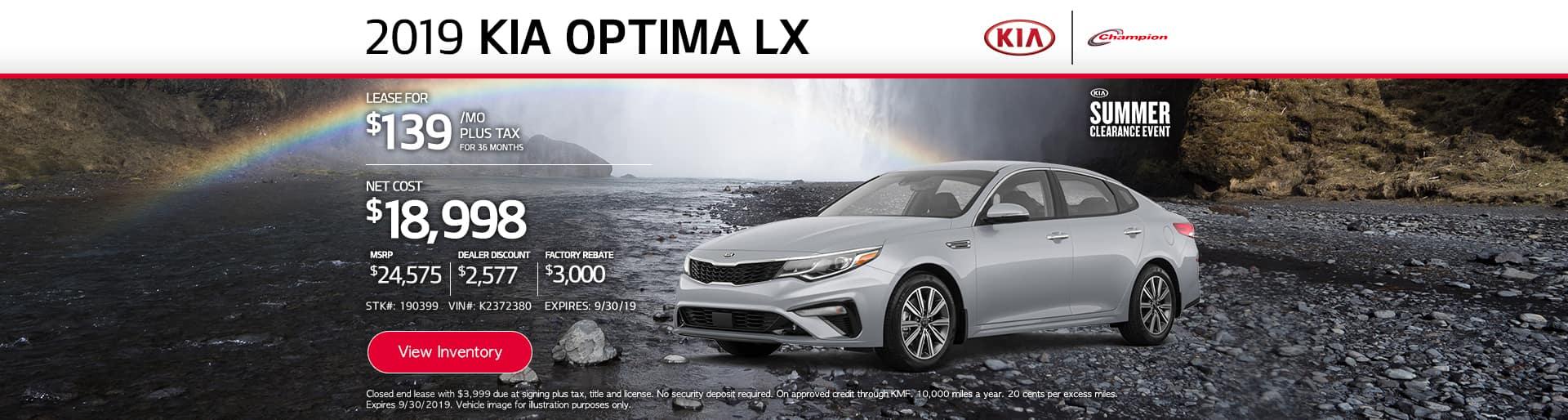 desktop TK 2019 Kia Optima LX