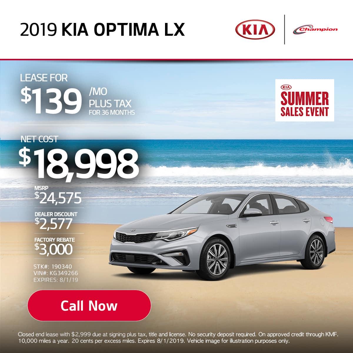 mobile TK 2019 Kia Optima LX