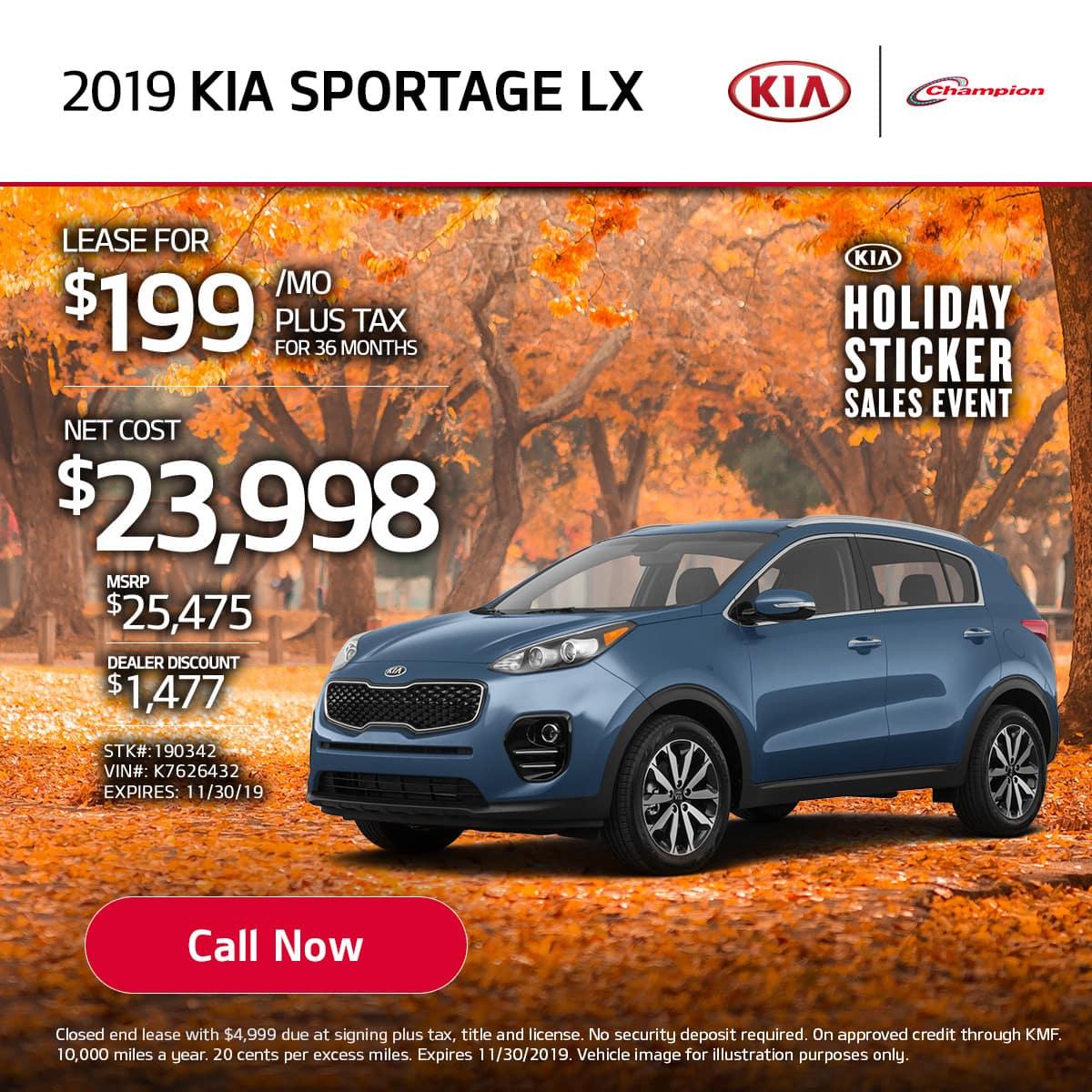mobile TK 2019 Kia Sportage LX