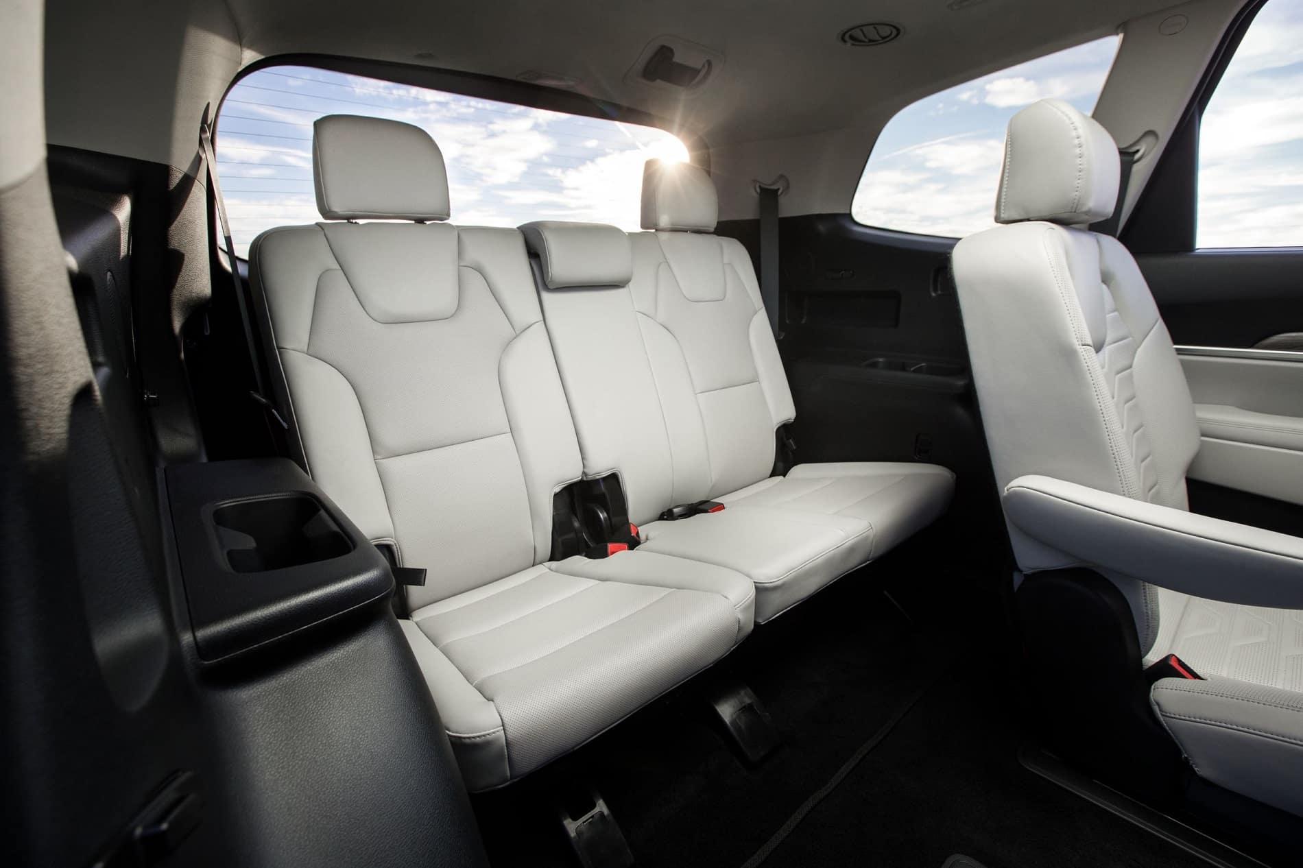 2020 Kia Telluride Roomy, Spacious Leg Room in Rear Seats Interior Mid Size Luxury SUV at Kia of Valencia near Santa Clarita, CA and Los Angeles Metro