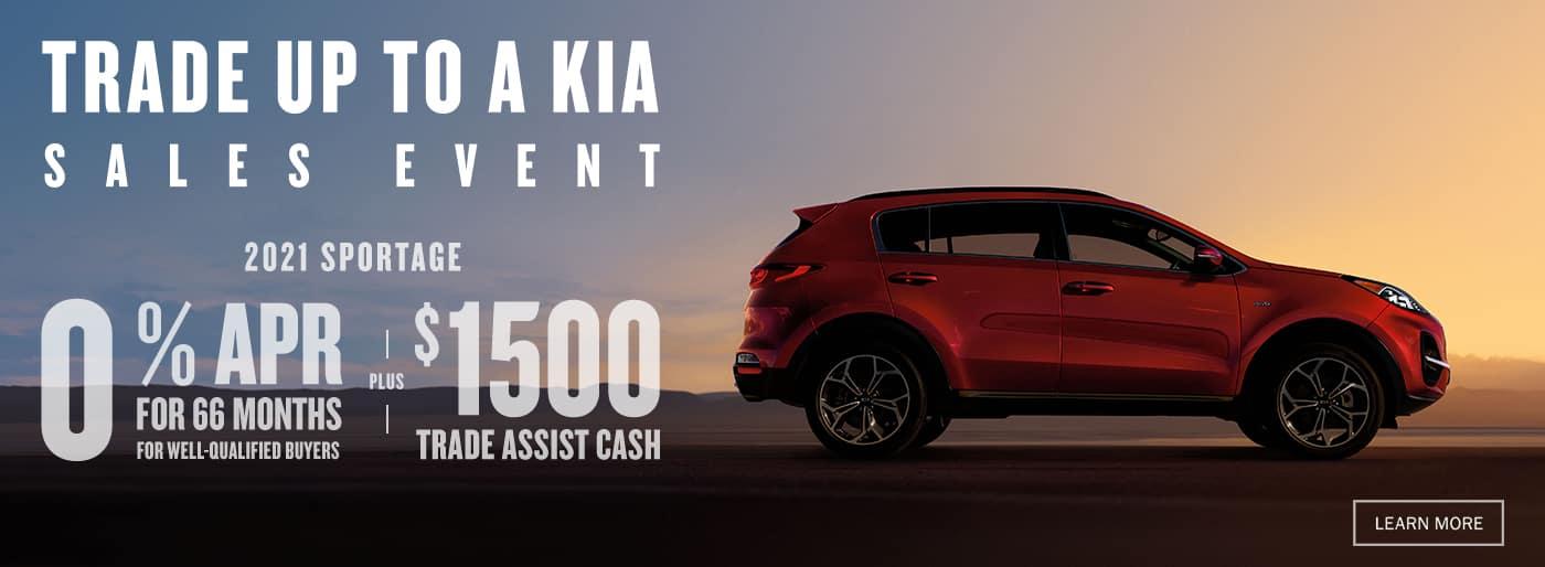 Trade Up to a Kia Sales Event Trade In Deals near Santa Clarita, Ca at Kia of Valencia