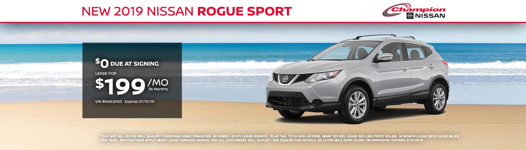 desktop TK 2019 Nissan Rogue S