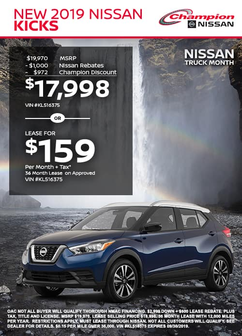 mobile TK 2019 Nissan Kicks