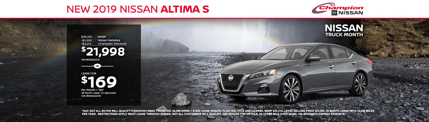 desktop TK 2019 Nissan Altima