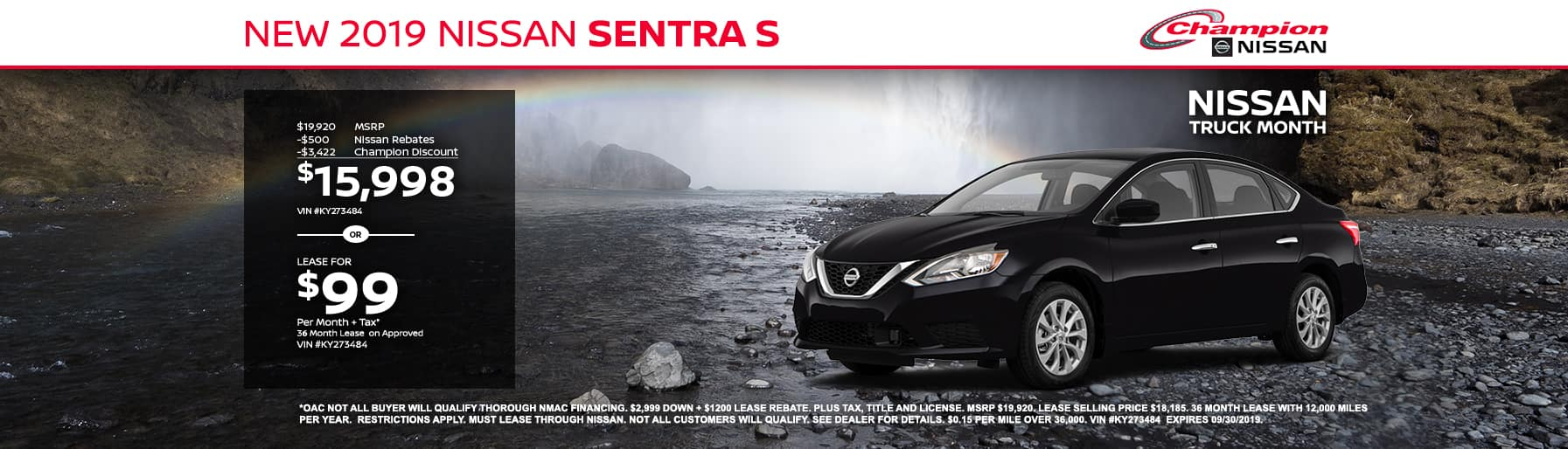 desktop TK 2019 Nissan Sentra